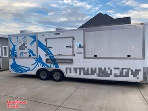 2020 - 26' Permitted Mobile Kitchen Food Concession Trailer.