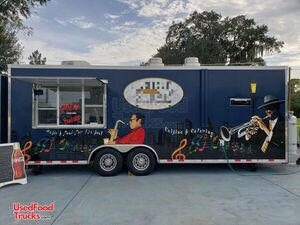 Super Neat 2016 8.6' x 24' Kitchen Food Trailer/Lightly Used Mobile Food Unit.