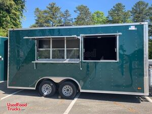 Brand New 2020 Freedom 8.5' x 18' Food Concession Trailer.