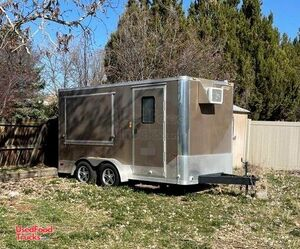 Very Clean Used 2013 - 8' x 12' Mobile Food Concession Trailer.