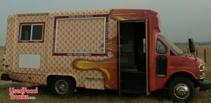 2001 Chevrolet Express 3500 Cutaway 23' Kitchen Food Truck.