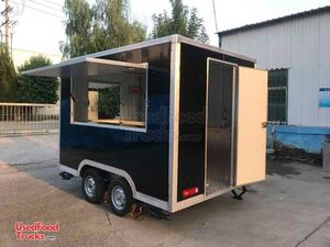 Ready to Outfit Brand New 6.5' x 8.5' Mobile Food Concession Trailer.