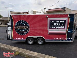 Never Used 2019 8.5' x 18' Licensed Food Trailer 2020 Kitchen Build-Out.