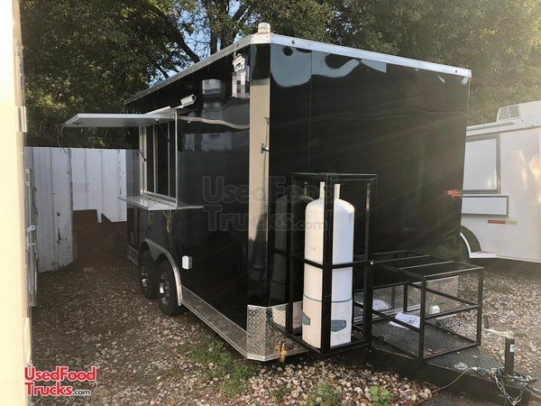NEW 2021- 8.5' x 14' Food Concession Trailer / Mobile Kitchen Unit.