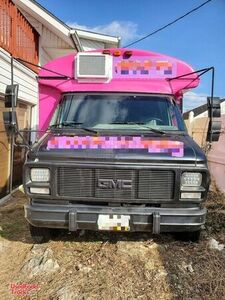 GMC Rally Wagon G3500 Ready to Work Mobile Kitchen Used Food Truck.