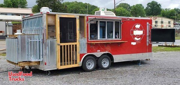 Fully Loaded and Very Versatile 2019 - 8.5' x 20' Mobile Kitchen Food Concession Trailer.