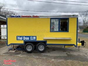 2008 Wells Cargo 8' x 16' Mobile Kitchen Trailer w/ Pro Fire Suppression.