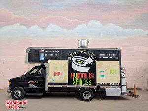 Ready to Work 2004 - 24' Ford E-450 Diesel Mobile Kitchen Food Truck.