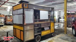 2014 - 5' x 10' Compact Waffle Kitchen / Street Food Concession Trailer.