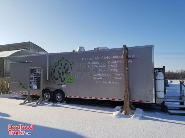 Very Spacious 2015 8.5' x 30' World Wide Food Concession Trailer/Mobile Kitchen.