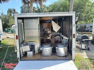 NEW 2020 8.5' x 24' Food Concession Trailer / DIY Never Used Mobile Kitchen.