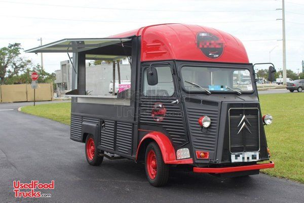 Head-Turning Vintage 1973 Citroen H Van 10' Coffee Truck with Unused Kitchen.