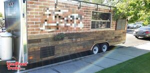 2009 - 8' x 26.5' Loaded Mobile Kitchen / Spacious Food Concession Trailer.