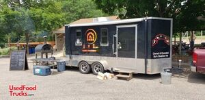 2017 - 8' x 17' Wood-Fired Pizza Concession Trailer / Pizzeria on Wheels.