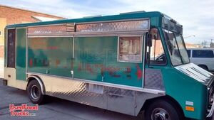 Recently Serviced  Low Mileage 22' GMC Food Truck  with Pro Fire System.