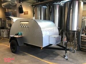Never Used 2020 - 5' x 9' Beer Concession Trailer / New Mobile Taproom.