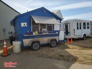 Used Mobile Food Concession Trailer with 1996 Ford E350 Van.