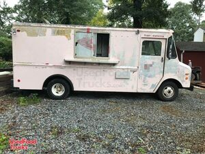 Ready to Outfit GMC Grumman Empty Step Van All-Purpose Food Truck.