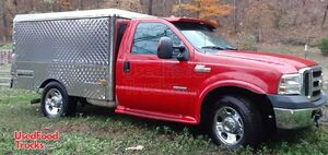 2006 Ford F350 Diesel Lunch Serving / Canteen Style Food Truck.