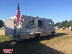 Diesel Oshkosh Step Van Food Truck / Used Mobile Kitchen for General Use.