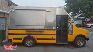 Turnkey 2000 Ford E350 18.5' Stepvan All-Purpose Food Truck.