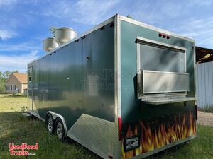 2012 - 8' x 28' Food Concession Trailer / Used Mobile Kitchen.