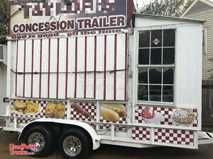 Recently Renovated 8' x 16' Food Concession Trailer / Kitchen on Wheels.