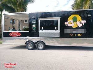 Super Neat 2019 Cynergy 10' x 31' Barbecue Food Trailer with Porch.