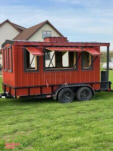 2019 - 7' x 11' Caboose Style Vending Concession Trailer for, Ready to Finish.