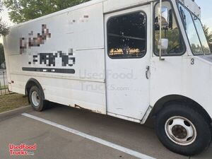 Ready for Completion Inspected Chevrolet Step Van Food Truck.