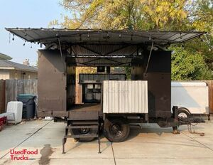 2016 - 6' x 17' Certified Commercial Size Barbecue Pit Class IV Concession Trailer.
