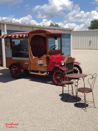 Eye-Catching Vintage Style 1915 Model T Ford Replica Concession Food Truck.