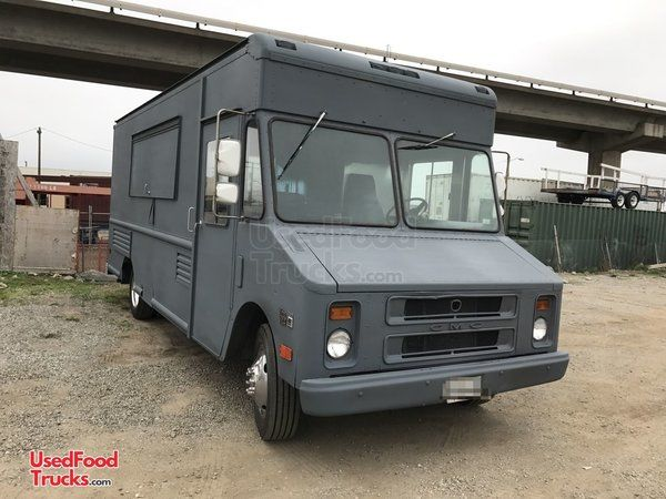 Fully-Equipped GMC Step Van Kitchen Food Truck / Used Mobile Kitchen.