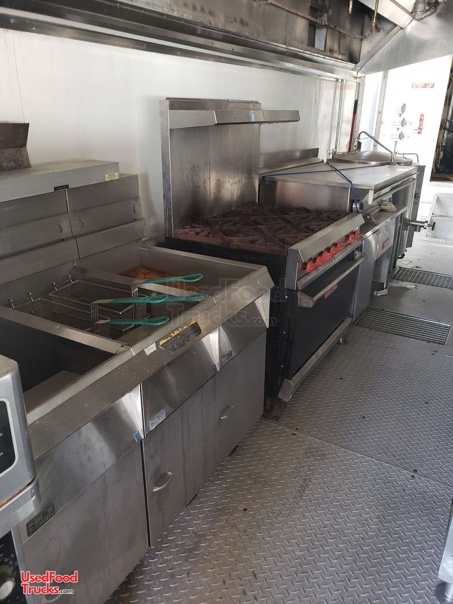 Two 8 6 X 44 Food Concession Trailers