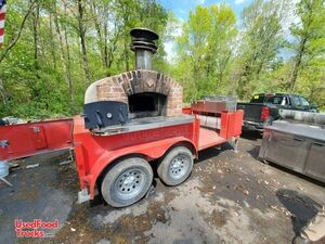 2015 Wood-Fired 16' Brick Oven Pizza Concession Trailer / Mobile Pizzeria.