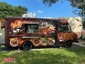 Chevrolet Barbecue Mobile Kitchen Food Truck w/ Bluetooth Smoker.