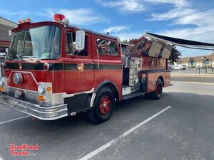 Turnkey 1973 Mack Mobile Beer Bar Fire Truck / Mobile Pub Business.