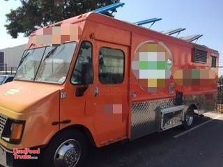 Gorgeous GMC Workhorse Step Van Kitchen Food Truck / Used mobile Kitchen.