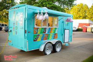 2002 6' x 14' HMDE Cotton Candy Concession Trailer / Food Trailer.