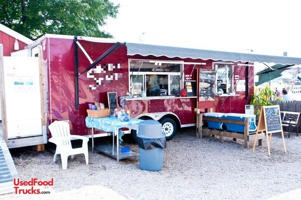 2010 Pace American 8' x 24' Food Concession Trailer / Mobile Kitchen.