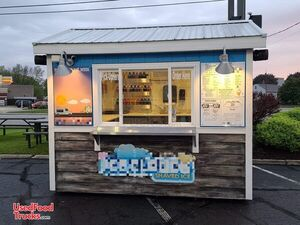 2012 - 8' x 10' Eye-Catching Shaved Ice Snowball Concession Stand.