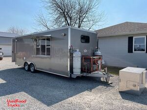 2017 Worldwide 8.5' x 22' Well-Maintained Kitchen Concession Trailer.