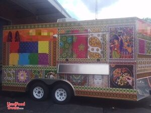 2017 - 8.5' x 16' Food Concession Trailer - Super Nice.