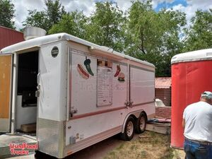 Ready to Operate Wells Cargo Mobile Kitchen Food Concession Trailer.