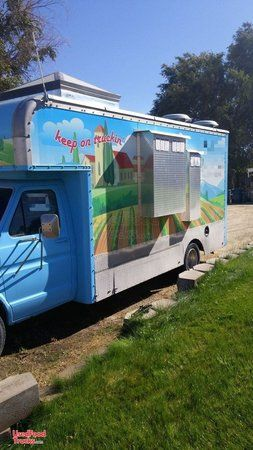 Chevrolet Mobile Kitchen Food Truck Good Working Condition.