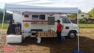 Pristine 17' GMC Ventura Kitchen Food Truck with Pro Fire Suppression.