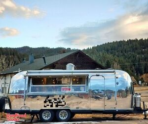Vintage 1972 Fully Restored 25' Airstream Food Concession Trailer.