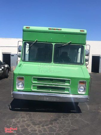 Ready to Roll GMC Step Van Food Truck/Mobile Kitchen w/ Pro Fire Suppression.