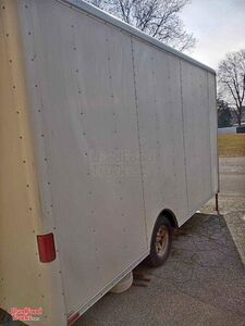 2010 8' x 12' Food Concession Trailer with All Stainless Steel Kitchen.