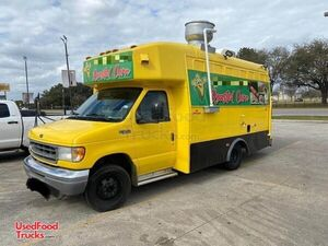 Permitted 2001 Ford Econoline Roasted Corn Food Truck/Mobile Corn Roasting Biz.